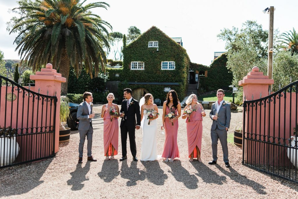 auckland vineyard wedding