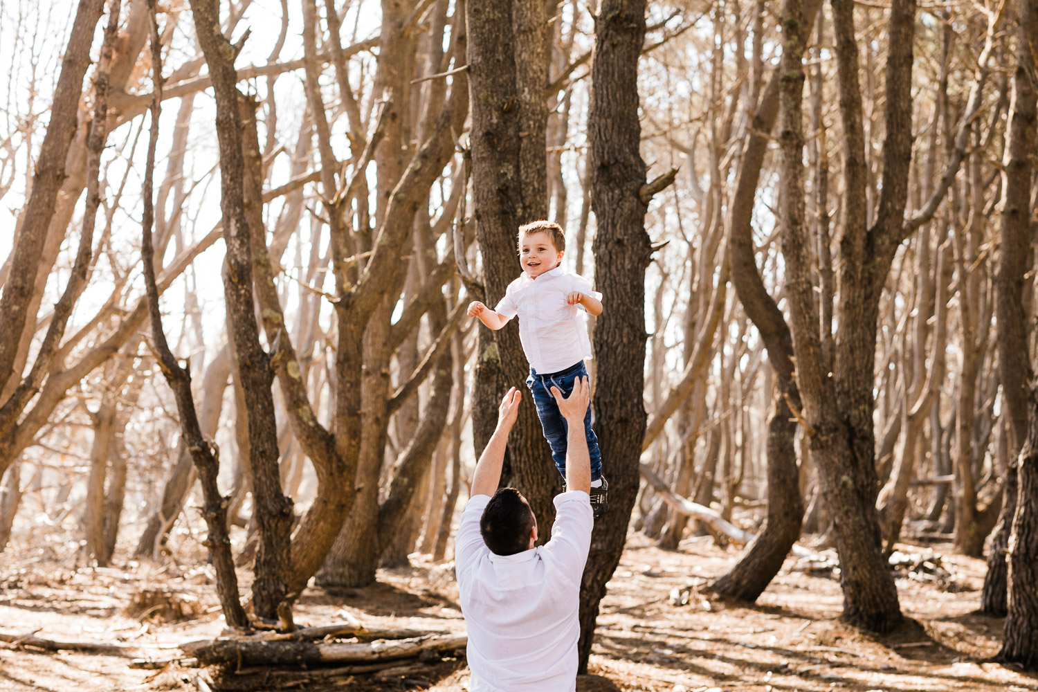 Auckland Family Photographer Forest