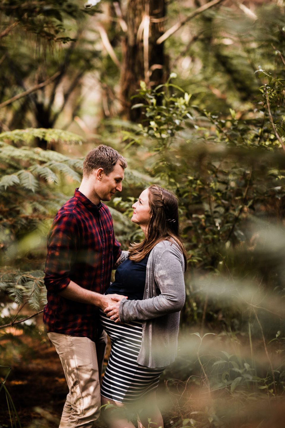 Auckland Maternity Photographer Forest